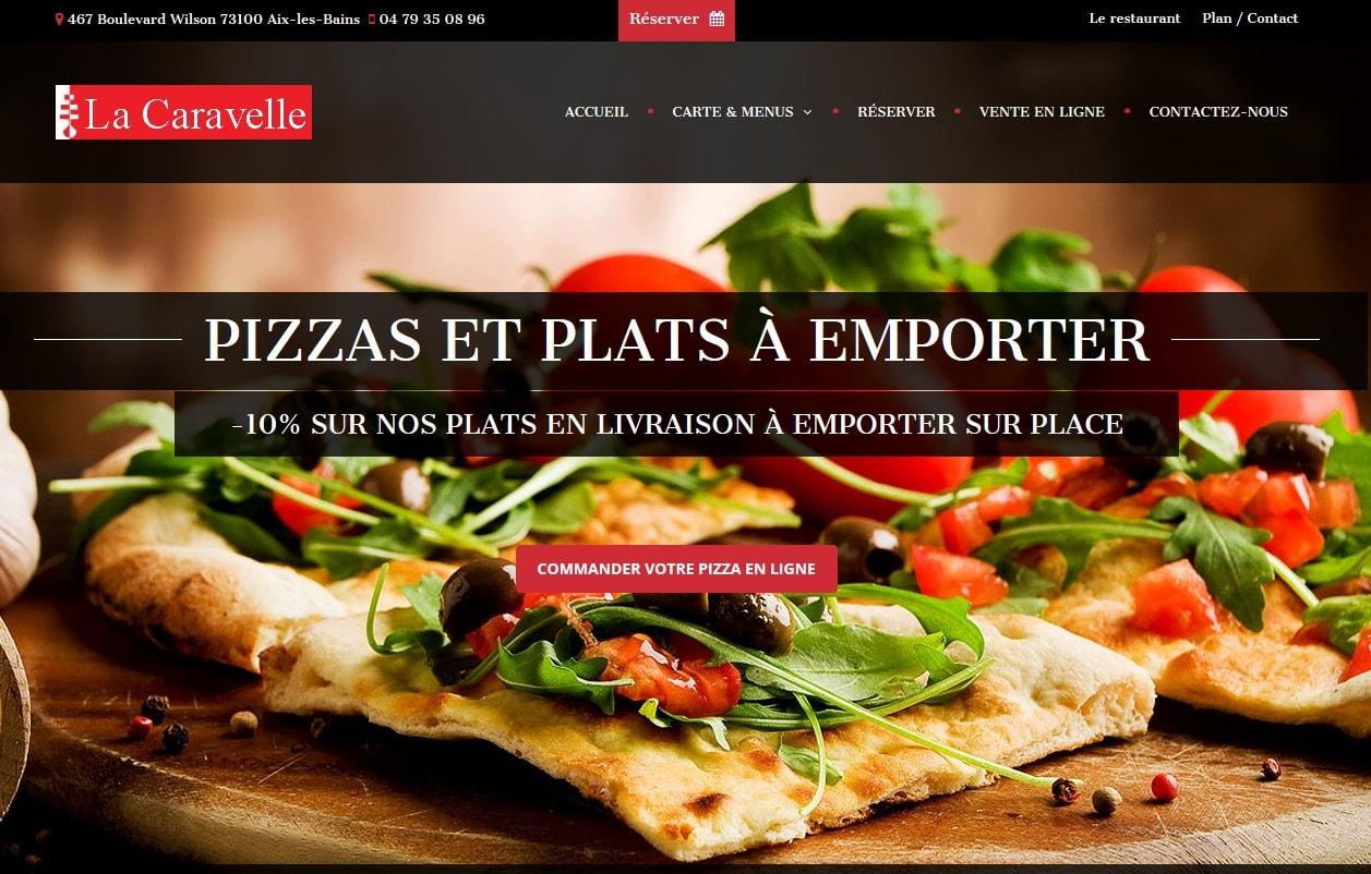 Nouveau site web de la Caravelle